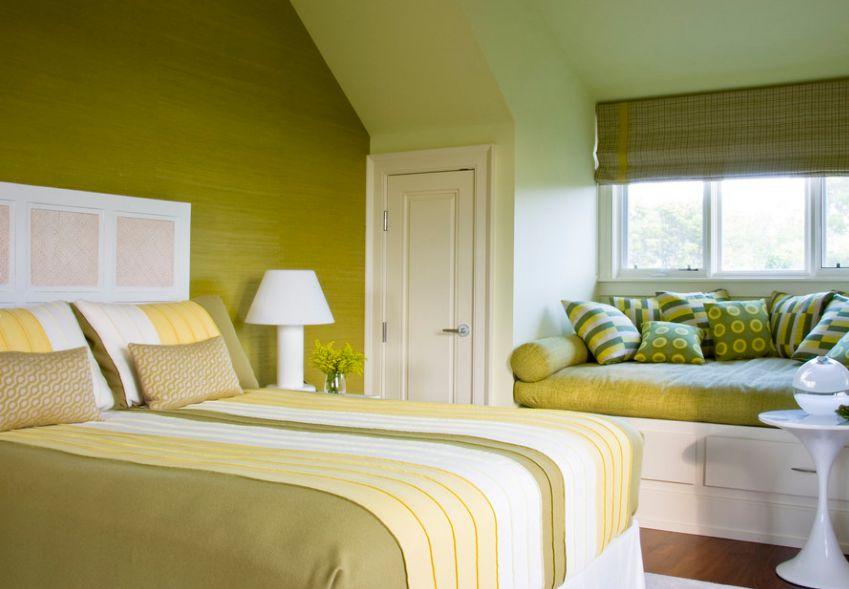 Sypialnia ze schowkami